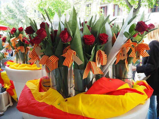 Dia de Sant Jordi Barcelona