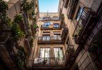 balcones en Barcelona