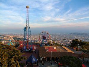 Vistas Tibidabo Barcelona