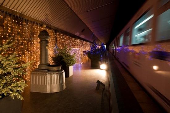 Image de l'ancienne station de Gaudí