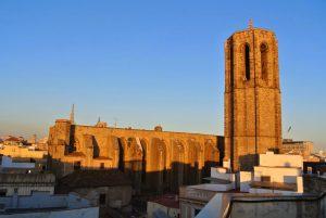 vista de lejos de la catedral