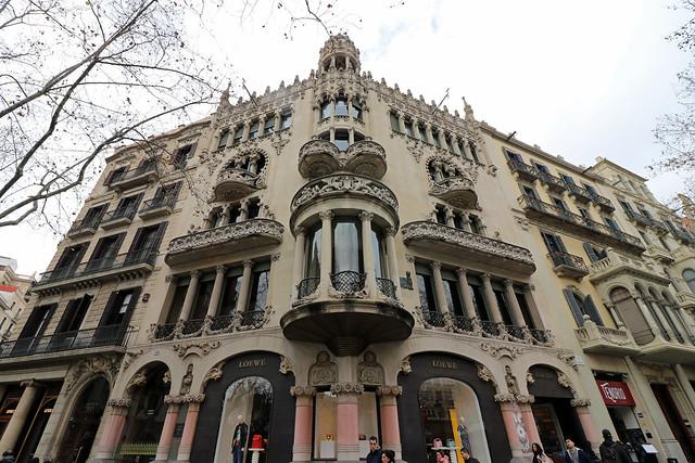 casa lleo i morera passeig de gracia barcelona