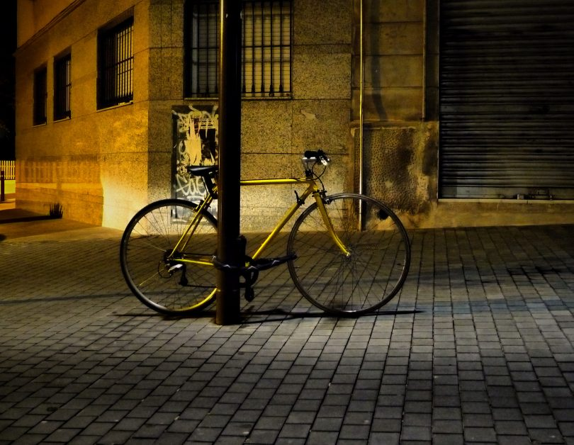 Bici aparcada