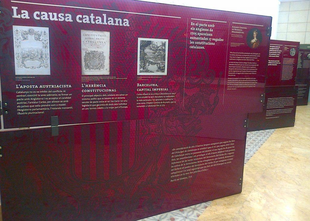 Exposición l'aposta catalana 11-S