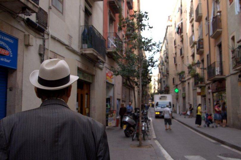 Una de las calles de El Raval