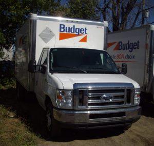 Camioneta Ford de Budget