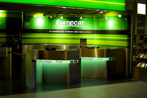 Europcar, empresa de alquiler de coches