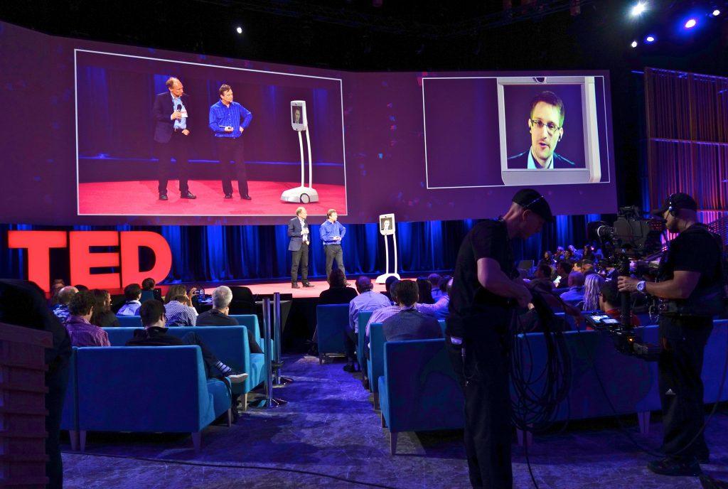 Una conferencia de TEDTalks