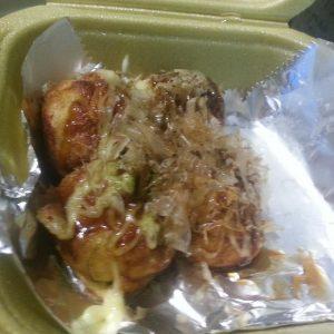 Takoyaki de Pulpo del Yatai de Sitges