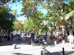 plaza huesca Sants
