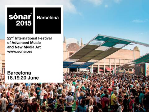 Sónar 2015 Barcelona