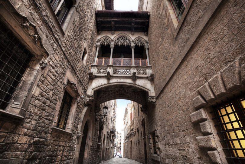 Resultado de imagen de barrio gótico barcelona