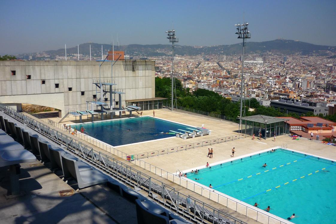 piscinas p blicas de barcelona