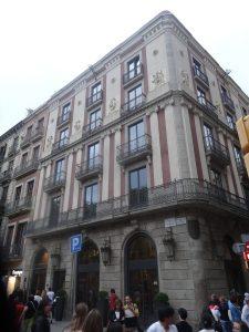 hotel modernista barcelona