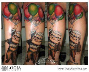Tatuaje de la tienda Logia