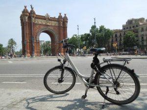 Alquilar una bici en Barcelona