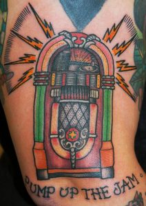 Tatuaje de Santa Demonia