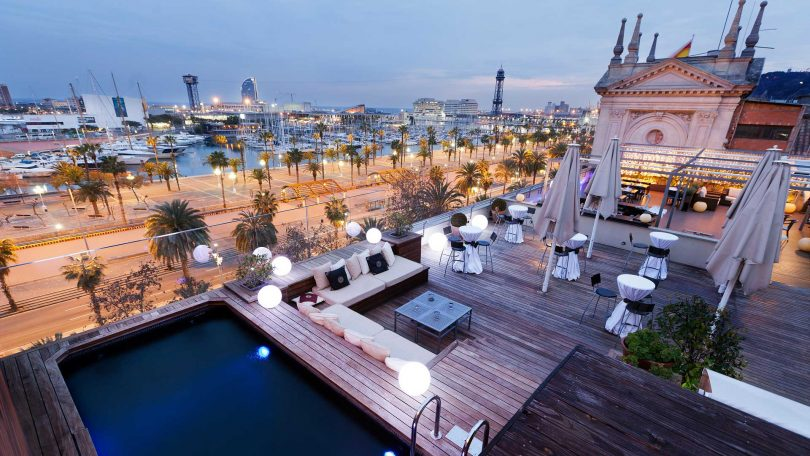 terrazas barcelona hoteles