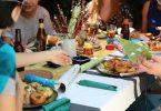cena con amigos barcelona