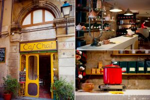 Restaurantes de la calle casp