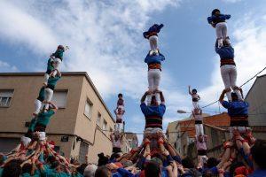 castellers actuaciones barcelona