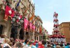 castellers en barcelona