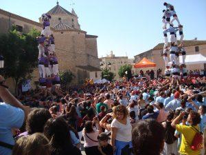 ver castellers en barcelona