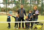 Padel para niños en Barcelona