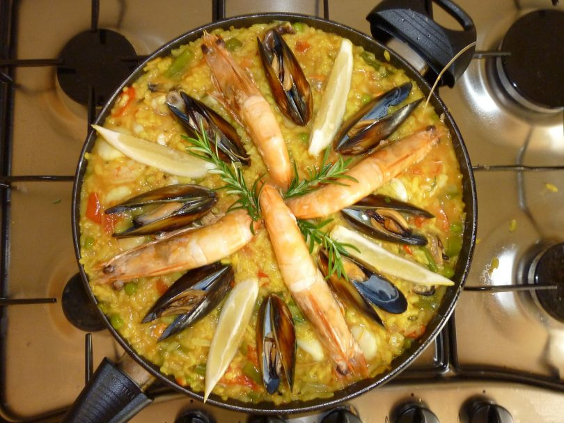 paella gracia barcelona
