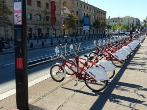 Alquilar bicis en la Barceloneta