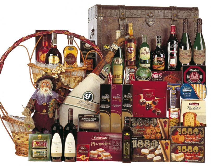 comprar lotes de navidad en barcelona, regalos de navidad en barcelona