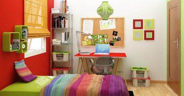 Cómo decorar una habitación de estudiantes