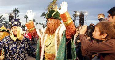 Cabalgata Reyes Magos de Barcelona