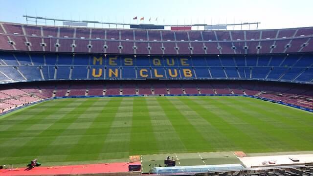 camp nou de barcelona les corts