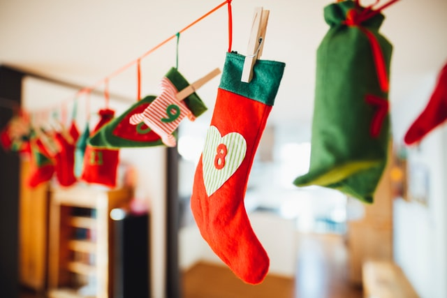 decoracion salon navidad