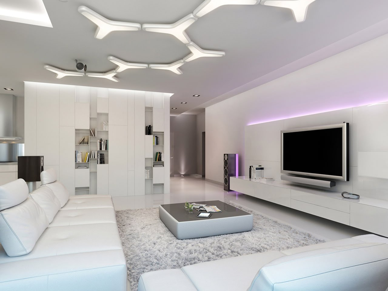 Decorar un apartamento moderno - Decorar un salon moderno ...
