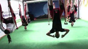 aero yoga en barcelona, centros de yoga en barcelona