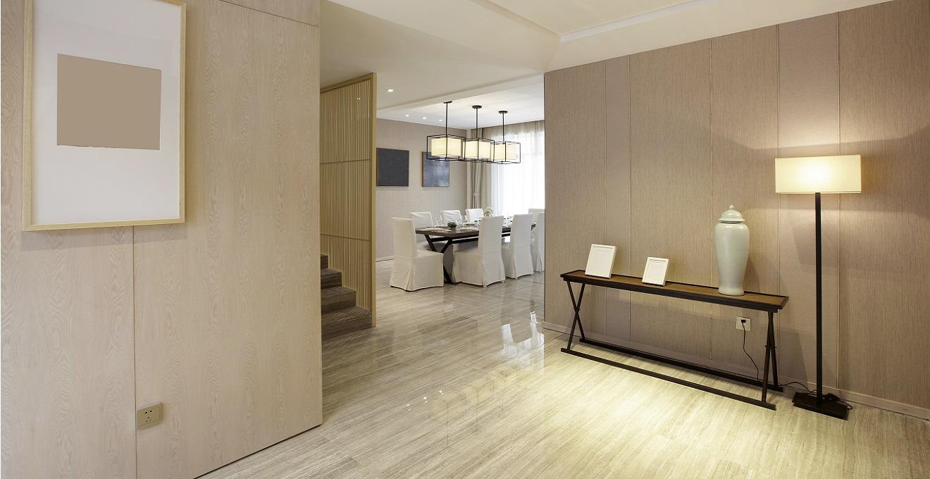 C mo decorar la entrada del piso for Banco para entrada de casa