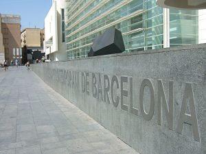Exterior del Museo de Arte Contemporáneo de Barcelona