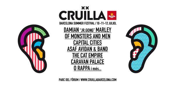 festivales de barcelona, cruilla 2016