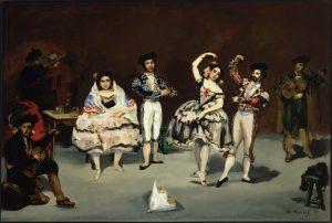 """""""El Ballet Español""""de Manet"""