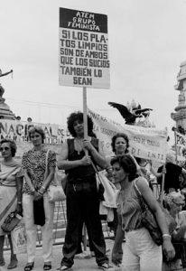 día de la mujer en Barcelona