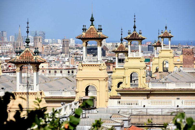 Imagen de Barcelona des de el Pueblo Español