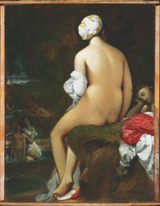 """Pequeña Bañista"" Jean Auguste Ingres"