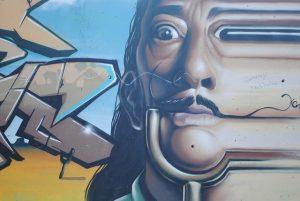 graffitti de Salvador Dalí