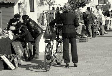 mercadillos callejeros en Barcelona