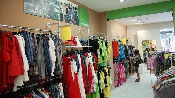 Recogida y venta de ropa usada