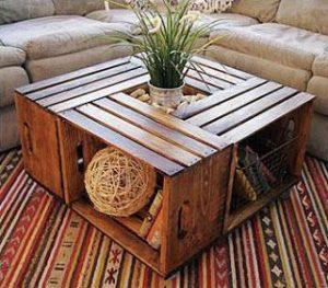 Ideas para decorar con palets, mesa de centro