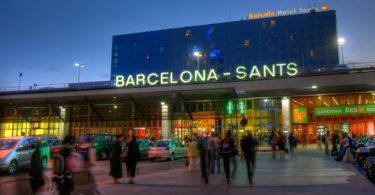 sants estació barcelona