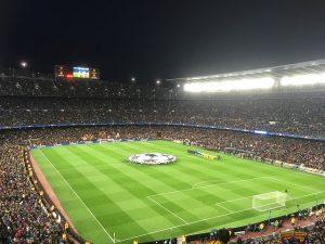 El Camp Nou es uno de los lugares más visitados Barcelona